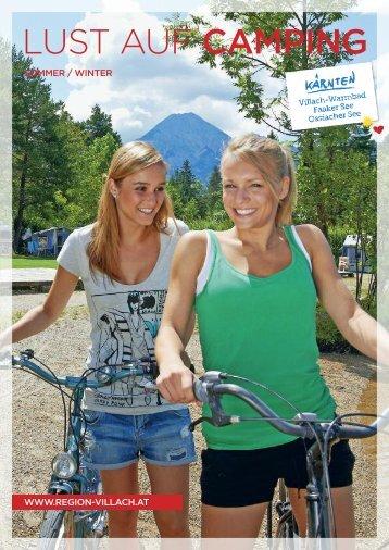Lust auf Camping - Region Villach