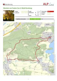 Faaker See - Waldrundweg - Region Villach