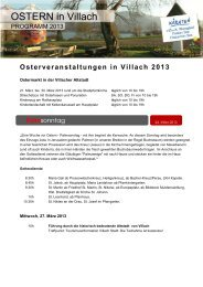 OSTERN in VILLACH - Region Villach