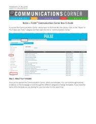 Rodan + Fields® Communications Corner How-To Guide