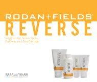 REVERSE Regimen brochure - Rodan + Fields