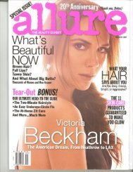 Allure March 2011 AMP MD and Drs - Rodan + Fields
