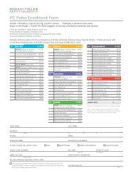 PC Perks Enrollment Form 102212.indd - Rodan + Fields