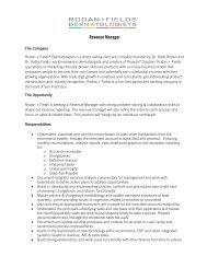 Revenue Manager - Rodan + Fields