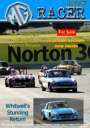 Issue 6 - MG Racing