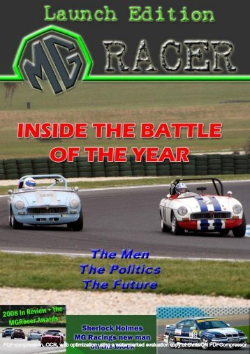 Issue #1 - MG Racing