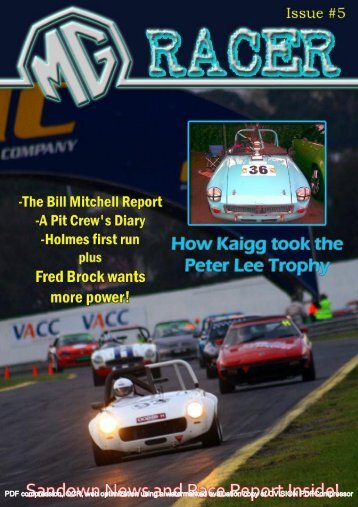 Issue 5 - MG Racing