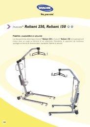 Invacare® Reliant 250, Reliant 150 - Hacavie