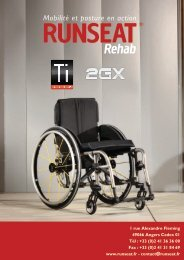 www.runseat.fr - contact@runseat.fr 49066 Angers Cedex 01 Tél : + ...