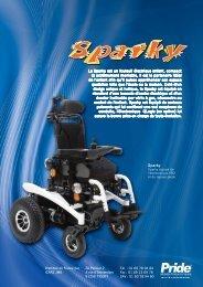 Le Sparky est un fauteuil électrique enfant, compact et ... - Hacavie