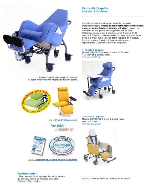 fauteuil médical - lit médical - aide à la vie courante - Hacavie