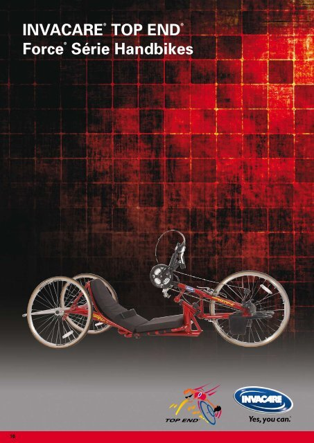 INVACARE® TOP END® Force® Série Handbikes - Hacavie