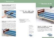 Barrières de lits - Hacavie