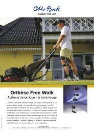 Orthèse Free Walk - Hacavie