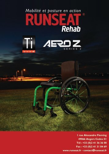 www.runseat.fr - contact@runseat.fr 49066 Angers Cedex 01 Tél : + ...