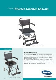 Invacare® Chaises-toilettes Cascata - Hacavie