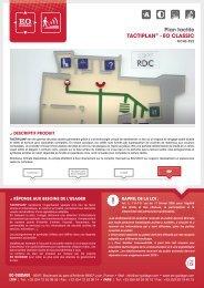 Plan tactile TACTIPLAN® - EO CLASSIC - Hacavie