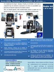 Access-Ability, fournisseur en accessibilité de véhicules…….