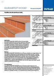 durastep wood durastep wood - Dural GmbH & Co KG, Ruppach ...
