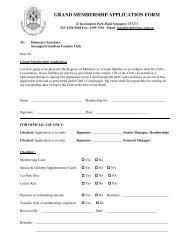 grand membership application form - Serangoon Gardens Country ...