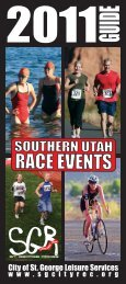 RACE BROCHURE 2011_r3.indd - City of St. George