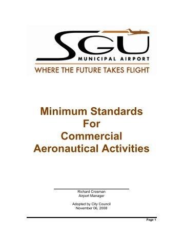 Minimum Standards - Final - SGU