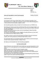 Grün-Weiss - SG Eintracht Mendig/Bell