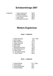 Pistole - SG Eichenlaub in Schaftlach