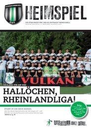 Rheinlandliga! hallöChen, - SG Eintracht Mendig/Bell