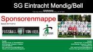 Folie 1 - SG Eintracht Mendig/Bell