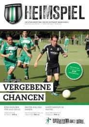 Vergebene ChanCen - SG Eintracht Mendig/Bell