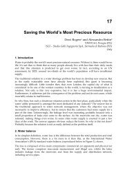 17 Saving the World's Most Precious Resource - SGI Studio Galli ...