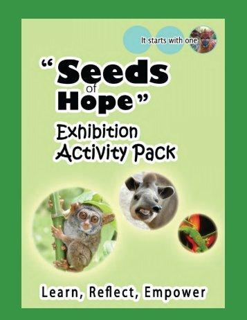"""Seeds of Hope"" Activity Pack PDF Download - SGI"