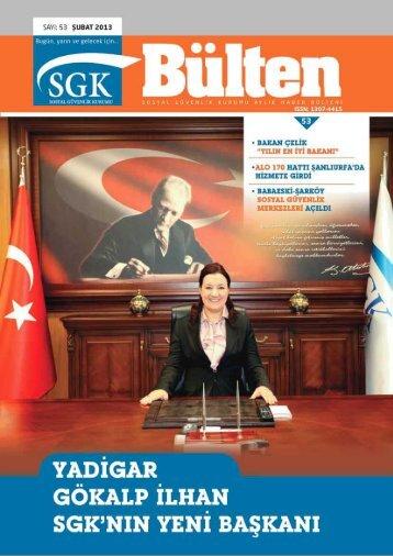 Sayı 53 (Şubat 2013 ) - Sosyal Güvenlik Kurumu