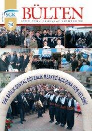 Sayı 24 ( Mart 2009) - Sgk