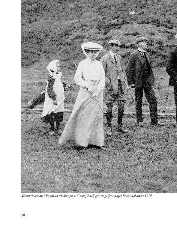 70 Kronprinsessan Margareta och kronprins Gustaf Adolf går en ...