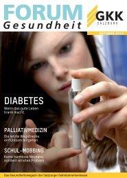 Ausgabe – Oktober 2013 - bei der Salzburger Gebietskrankenkasse