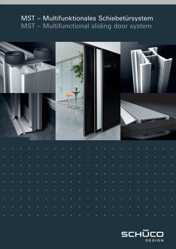 Alu Schiebetuer - SGline Design