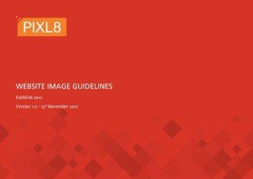 Pixl8 style guide