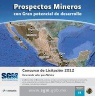 Prospectos Mineros - Servicio Geológico Mexicano