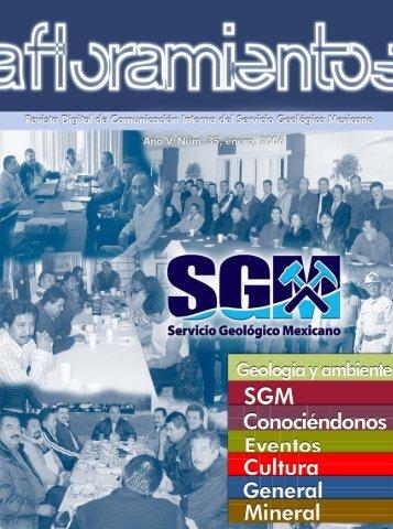 AFLORA DIGITAL - Servicio Geológico Mexicano