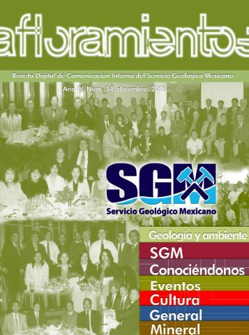 Afloramientos Dic05 - Servicio Geológico Mexicano