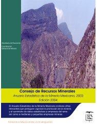 2003 - Servicio Geológico Mexicano