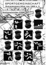 SGM-Nachrichten 2_2008 - SGM-Hildesheim