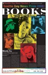 Seattle Gay News Pride 2008!