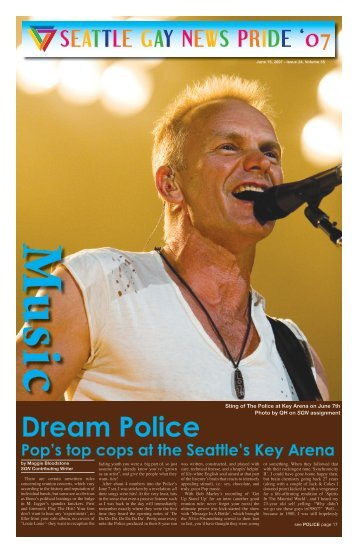 Dream Police - Seattle Gay News