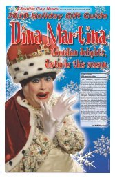 2010 Holiday Gift Guide - Seattle Gay News