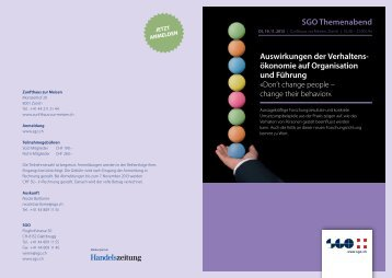 Programm - SGO