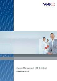 Change Manager mit SGO-Zertifikat