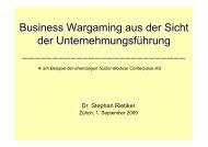 Vortag von Dr. Stephan Rietiker - SGO